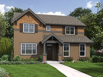 The Continental Home Plan - Main Rendering