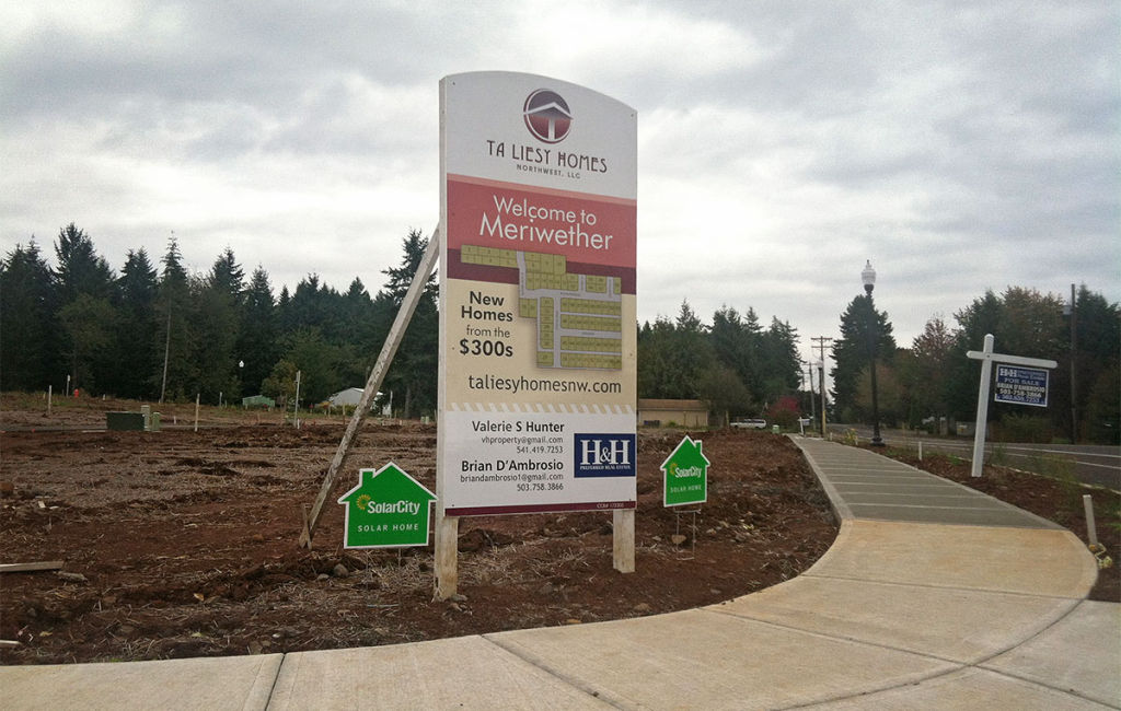 TA Liesy Homes - Meriwether - Coming Soon Sign